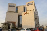 Komplex, ve kterém Mia Abeles se svým manželem Hananem bydlí. Haifa, listopad 2016.