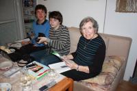 Natáčení s žáky ZŠ Petřiny v rámci projektu Příběhy našich sousedů