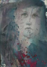 Gita (malba z cyklu Nezapomenu, 2005)