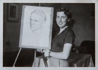Dubová Jana mladá umělkyně
