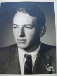 Manžel František Dub před válkou