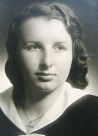 JUDr. Musilová v roce 1945