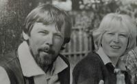 70. léta s mužem Jiřím Václavem