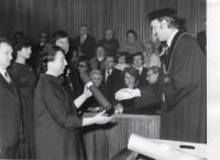 Doktorská promoce 1979 RNDr. II