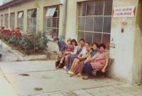 Anna Lišková s kolegy v Gale Hukovice