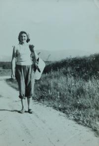 Anna Lišková v Kobylé nad Vidnavkou