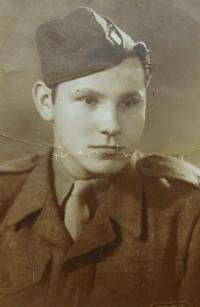 Strýc Karel Arabaš v československé armádě za první republiky