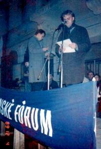1989 Wanek - mluvčí OF