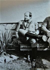 Costume rehearsal, Eduard, PKT, Teplice, 1980s
