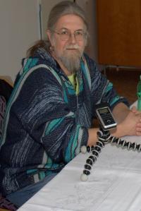 Lev Havlíček při natáčení rozhovoru