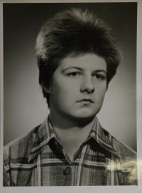 Lev Havlíček na školní fotografii
