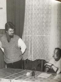 Lev Havlíček s Jindřichem Konečným