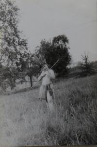 Lev Havlíček v dětství