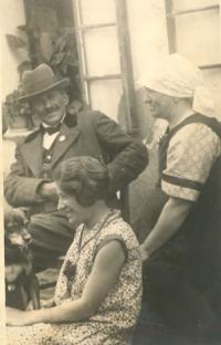Německá rodina ze Sedlečka