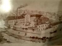 Obrázek pivovaru v Rožnově pod Radhoštěm, 30. léta 20. stol.