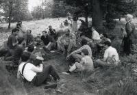 Setkání na Borůvkové hoře s polskými disidenty (15.8.1987)