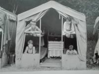 Michal Hron na pionýrském táboře