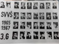 Školní tablo z roku 1967