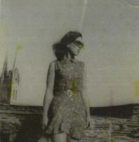 Věra Doušová v roce 1960