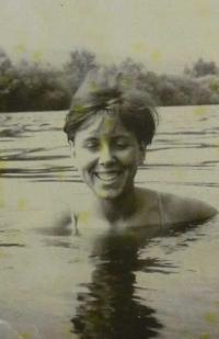 Věra Doušová v roce 1963