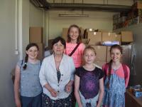 Studentský tým s Věrou Doušovou