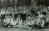 Řecké děti na setkání mládeže v roce 1951 ve Východním Berlíně