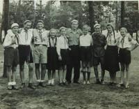 Sterios Kiriazopulos na setkání mládeže ve Východním Berlíně v roce 1951