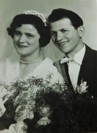 Svatební fotografie Steriose a Konstantiny Kiriazopulosových