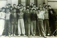 Utečenci z Řecka na kurzu češtiny v Ústí nad Labem