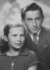 portrét manželov Ďuricovcov