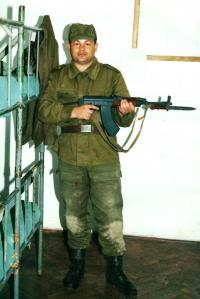 During the Military in Trebišov, as a 28-year-old