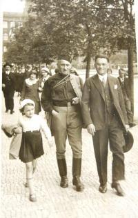 Sokol gathering (slet) in 1938.