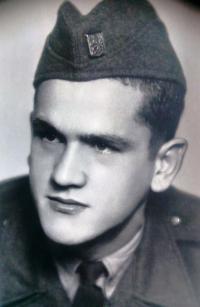 Vincent Dorník - from criminal military service (1950)