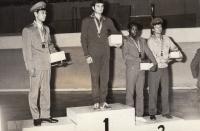 1977-1978, na armádním MS v Koreji, 3. místo