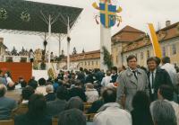 """2002 velehrad, jako  """"papežská ochranka"""""""