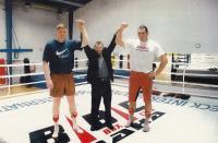 2002, po tréninku s mistrem světa Valujevem