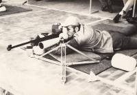 Jan Kůrka na olympiádě v Mexiku, rok 1968