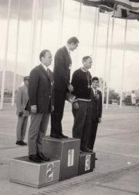 Jan Kůrka jako olympijský vítěz, rok 1968, Mexiko