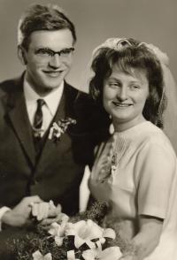 Svatební foto Jana a Zdeňky Kůrkových