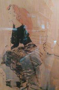 Obraz Libuše Lacinové od Vilmy Leskové