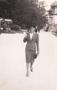 Naděždy maminka Marie Kestřánková