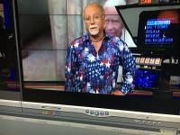 Salvador Blanco on TV, Miami 2016