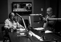 Salvador Blanco in the studio, Miami 2014