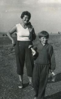 Jiřina Pacinová s dcerou Alexandrou