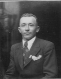 Václav Císař before his wedding