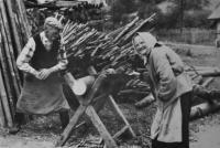 Adolf a Františka Bannertovi / děda a babička Josefa Bannerta / 60. léta