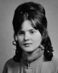 Miluše Bannertová / manželka Josefa Bannerta / asi 1968