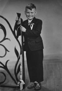 Josef Bannert / první přijímání / asi 1957