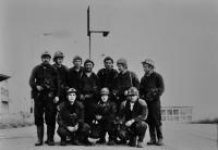Josef Bannert / vpravo / asi 1977