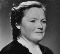matka Josefa Bannerta / 50. léta